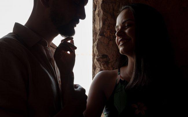 Jacque e Edyson fazenda ipanema
